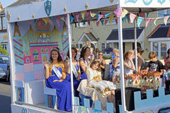 118th carnaval de Whitstable Image stock