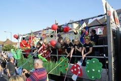 118th carnaval de Whitstable Photographie stock libre de droits