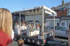 118th carnaval de Whitstable Images libres de droits