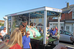 118th carnaval de Whitstable Photos stock