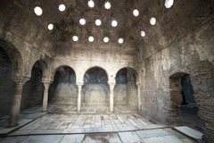 11th century Arab Baths Royalty Free Stock Photography