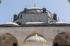 16th century Atik Valide mosque, Uskudar, Istanbul, Turkey Royalty Free Stock Image