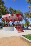 19th century Bandstand in the Republica Garden Stock Photography