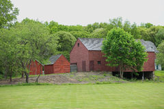 19th Century Barn in New York State Royalty Free Stock Image