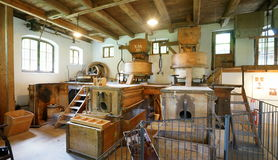 19th Century Bavarian Grain Mill Stock Images