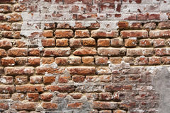 17th century  brick wall background Royalty Free Stock Images