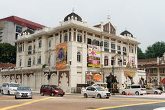 19th-century building in Kuala Lumpur stock images