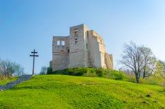 14th century castle ruins in Kazimierz Dolny. 14th century castle ruins in Kazimierz Dolny, Poland Royalty Free Stock Photos