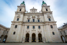 17th century cathedral of Salzburg, Austria Stock Photos