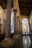 13th century Cefalu Cathedral in Cefalu, Sicily. The 13th century Cefalu Cathedral in Cefalu, Sicily Stock Photography