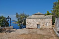 Agios Kosmas, Alonissos island Stock Image