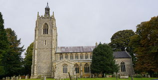 14th Century church. Royalty Free Stock Photo
