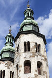 11th century Church of St. Andrew in Old Town, Krakow, Poland Stock Images