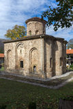 The 11th century church  in Zemen Monastery, Bulgaria Royalty Free Stock Image