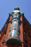 19th century clock tower turret Royalty Free Stock Photos