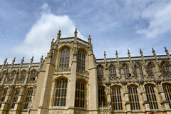 15th century facade of St Georges Chapel Royalty Free Stock Images