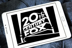 20th Century Fox logo Fotografering för Bildbyråer