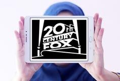 20th Century Fox logo Arkivfoto