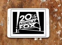 20th- Century Foxlogo Lizenzfreies Stockfoto