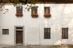 17th Century Guard Watch House in the Salzburg Castle Courtyard Stock Image
