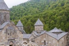 The 13th century Haghartsin monastery in Armenia.The ancient mon Stock Photo
