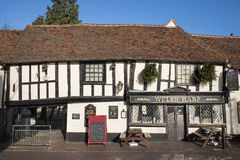 15th Century Half Timbered Inn Stock Images