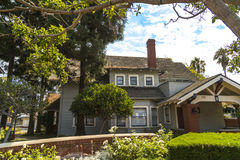 19th Century Home. A 19th Century home in scenic Heritage Park in Oxnard, California Stock Images