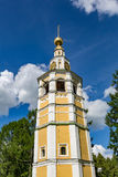 The 18th century Kremlin belfry in Uglich, Russia Royalty Free Stock Photography