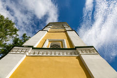 The 18th century Kremlin belfry in Uglich, Russia Stock Photos