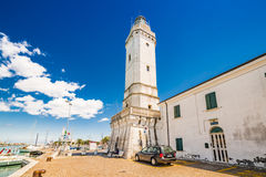 18th century lighthouse Royalty Free Stock Photography
