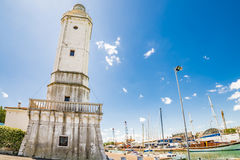 18th century lighthouse Royalty Free Stock Images