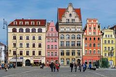 13th century Main Market Square, Stock Image