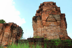 16th century Nong Hong laterite castle in Buriram province at Th Stock Photo