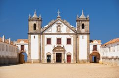 The 15th century Our Lady of the Cape or Nossa Senhora do Cabo C Royalty Free Stock Images