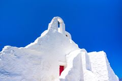 A 14th century Paraportiani Church on the island of Mykonos. Royalty Free Stock Photography