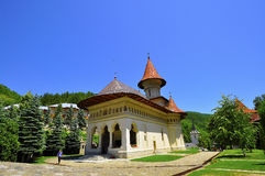 Ramet Monastery. 14th Century Rament Monastery located in Transylvania Romania Stock Photography