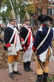 18th century revolutionary war soldiers Royalty Free Stock Images
