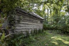 19th century,settlement. A restored 19th century,settlement in Mount Vernon Illinois stock photography