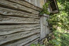19th century,settlement. A restored 19th century,settlement in Mount Vernon Illinois stock image