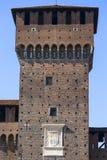 15th century Sforza Castle Castello Sforzesco, Milan, Italy. 15th century Sforza Castle Castello Sforzesco, Milan, Italy stock images