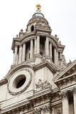 18th century St Paul Cathedral, London, United Kingdom. Stock Images