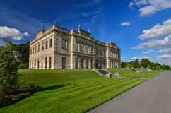 19th Century Stately Home, Brodsworth, South Yorkshire. Photograph of an English 19th Century Stately Home, Brodsworth, South Yorkshire royalty free stock photo