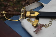 18th century still life sword and scabbard Stock Images