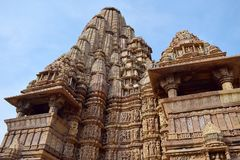 Temple town of Khajuraho Royalty Free Stock Photos