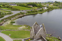 16th century tower house - Dunguaire Castle Stock Photography
