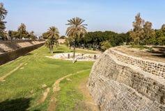 Venetian walls, Nicosia, Cyprus. 16th century Venetian walls of Nicosia, Cyprus royalty free stock photos