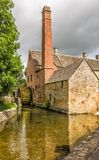 19th Century water mill Royalty Free Stock Photography