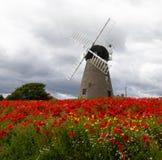 16 th century Whitburn Windmill royalty free stock photo