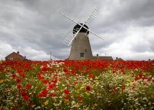 16 th century Whitburn Windmill stock photo