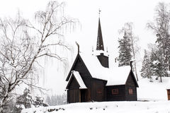19th century wooden house in Norway Stock Photography